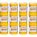 "Rust-Oleum Anti-Slip Adhesive Strips, Textured, 6"" x 48"", 4/CT, Yellow"