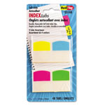 Redi-Tag/B. Thomas Enterprises Removable Index Tabs, Assorted Colors
