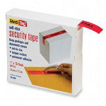 "Redi-Tag/B. Thomas Enterprises Self Stick Security Tape, 1"" x 15 yd Roll, Red, ""CONFIDENTIAL"""
