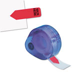 Redi-Tag/B. Thomas Enterprises Arrow Message Flags for Right or Left, SIGN HERE, Red, 120/Refillable Dispenser
