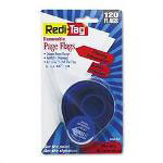 Redi-Tag/B. Thomas Enterprises Arrow Message Page Flags, Missing Information, Red, 120/Refillable Dispenser