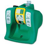 R3 Safety Portable EyeWash, Self-Contained, 16 Gal, Green