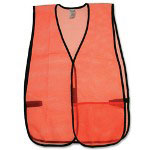 R3 Safety Pocketed Vest, Mesh, Orange