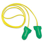 R3 Safety LPF-30 Max Lite Single-Use Earplugs, Corded, 30NRR, Green, 100 Pairs