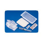 Rusch Foley Catheter Tray with O Catheter, 30 cc