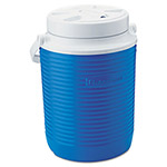 Rubbermaid Victory Jug, 1gal, 8.3 dia x 10.98h, Blue/White