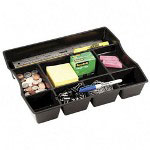 "Deep Drawer Organizer, 11-7/8""x14-7/8""x2-1/2"", Black"