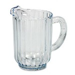 Rubbermaid Bouncer® Plastic Pitcher, 60 oz., Clear