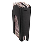 Rubbermaid Regeneration Plastic Magazine File, Black