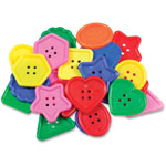 "Roylco Really Big Buttons, 2"" x 2"", 30pcs, Ast"
