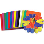 "Roylco Double Color Card Stock, 8"" x 9"", 100Sheets, Ast"