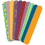 Roylco Fabric Craft Sticks, 50/PK, Ast