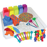 Roylco Sensory Tray Accessory Pack, Ages 3-Up, Assorted