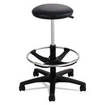 Safco Extended-Height Lab Stool, Black