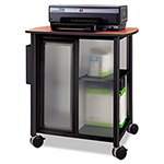 Safco Impromptu Personal Mobile Storage Center, 25-1/4w x 17-1/4d x 26-1/2h, Black