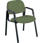 Safco Cava Urth Collection Straight Leg Guest Chair, Green