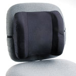 Safco Remedease High Profile Backrest, 13w x 4-1/2d x 12-1/2h, Black