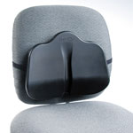 Safco Low Profile Backrest, 13 1/2w x 3d x 11h, Black