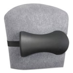 Safco Lumbar Support Memory Foam Backrest, Black, 14 1/2w x 4d x 11h