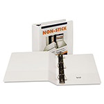 "Samsill Non Stick 2"" View Binder, White"