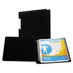 "Samsill 59% Recycled Top Performance DXL&trade D-Ring Binder, 1"" Capacity, Black"