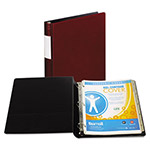 "Samsill 59% Recycled Top Performance DXL&trade D-Ring Binder, 1"" Capacity, Red"