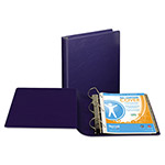 "Samsill 39% Recycled Top Performance DXL™ D-Ring Binder, 1"" Capacity, Blue"