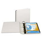 "Samsill 39% Recycled Top Performance DXL™ D-Ring Binder, 1"" Capacity, White"