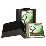"Samsill View Binder, 5"" Capacity, 8-1/2"" x 11"", Black"