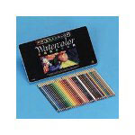 Sanford Professional Quality Watercolor Pencils, 36 Color Set