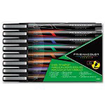 Prismacolor Art Marker, Chisel, Assorted, 8/Pack