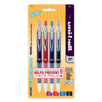 Sanford Retractable Gel Pen, Refillable, .7mm, Assorted
