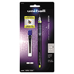 Uni-Ball KuruToga Mechanical Pencil, 0.7 mm, Black/Green Barrel