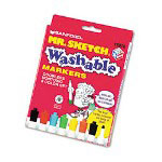 Sanford Washable Watercolor Markers, Conical Point, Assorted