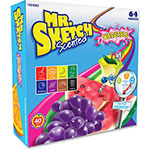 Mr. Sketch® Washable Markers, Chisel Tip, 64/ST, Scented/Ast