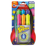 Mr. Sketch® Scented Watercolor Marker, Chisel Tip, 6 Intergalactic Colors, 6/Pack