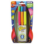 Mr. Sketch® Scented Stix Markers, Assorted Intergalatic Neon Colors, 6/Set