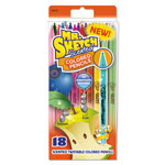 Mr. Sketch® Scented Colored Pencils, Assorted, School Grade, 18/pack