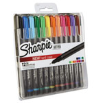 Sharpie® Art Pen with Hard Case, Fine Pt.,12/Set