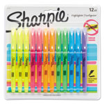Sharpie® Accent Pocket Style Highlighter, Chisel Tip, Assorted Ink, 12 per Set