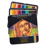 Sanford Premier Colored Woodcase Pencils, 48 Assorted Colors/Set