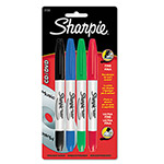 Sharpie® CD/DVD Markers,4 Color Set Includes One Each of Black, Red, Blue, Green