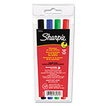 Sanford Ultra Fine Tip Permanent Markers, Four Color Set, 0.2mm