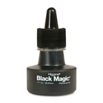 Higgins® Black Magic Waterproof Drawing Ink, Black, 1 oz. Bottle