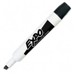 Expo® Dry-erase Marker, Chisel Point, Black