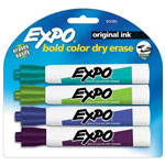 Expo® Dry-erase Marker, Chisel Point, 4 Ct., Assorted