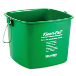 San Jamar Cleaning Bucket, 6 QT, Green