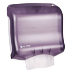 San Jamar Ultrafold™ Wall Mount C-Fold / Multi-Fold Paper Towel Dispenser, Black