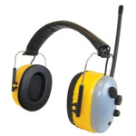 Sas Safety AM/FM Earmuff Hearing Protection
