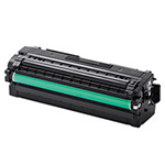 Samsung CLTK505L Toner, 6000 Page-Yield, Black